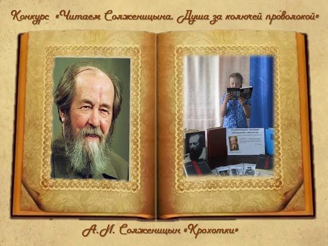Изображение предпросмотра прочтения – НикольКурмышова читает произведение «Крохотки.Шарик» А.И.Солженицына
