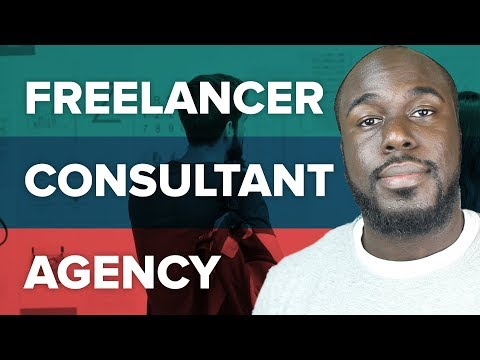 How to Stand Out: Freelancer vs Consultant vs Agency