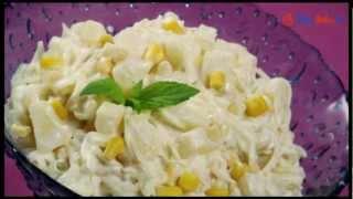 Sałatka z selera i ananasa - TalerzPokus.tv