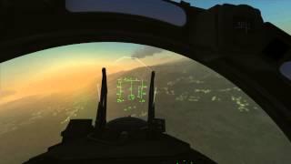 Flaming Cliffs 3 - INTENSE Air Battle (30+ Fighter Jets)