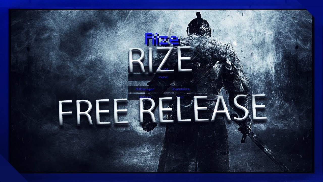 RIZE HACK CLIENT FREE DOWNLOAD RELEASE