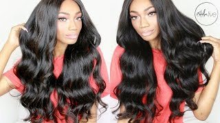 HAIR | EFFORTLESSLY GORGEOUS EASY TO MAINTAIN WAVY HAIR! • ALIGRACE BRAZILIAN BODY WAVE HAIR REVIEW