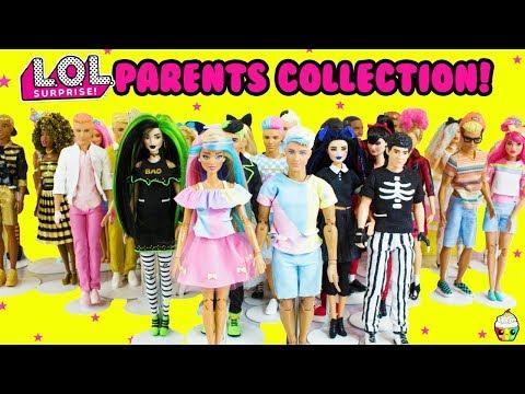 LOL Families Whole Collection 2019 DIY LOL Parents Cupcake Kids Club