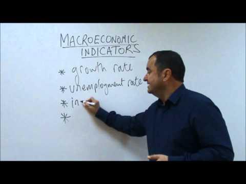 AS Level Economics Video 26: Macroeconomic Indicators