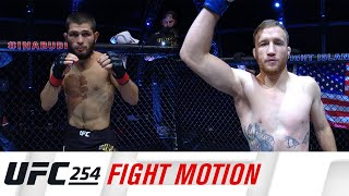 UFC 254: Fight Motion