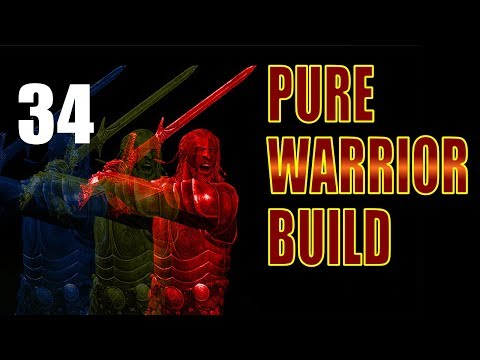 Skyrim Pure Warrior Walkthrough SURVIVAL Part 34: Big Business at the College (Enchanting 78)