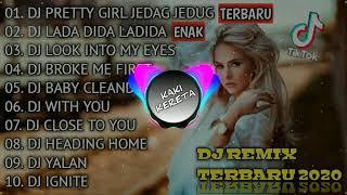 DJ TERBARU 2021 - DJ TIKTOK TERBARU 2021 - DJ VIRAL TERBARU 2021 - DJ JEDAG JEDUG PRETTY GIRL