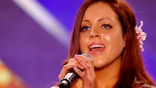 Melanie Mccabe's Audition - Simon & Garfunkel's Bridge Over Troubled Water - The X Factor Uk 2012