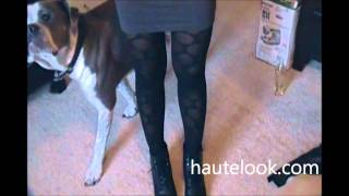 OOTD: Funky Betsey Johnson Tights!