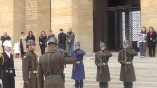 Gambar cover Anıtkabir'de Nöbet Değişimi - Guard Mounting at Anitkabir