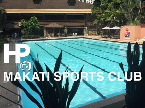 Makati Sports Club Tour Overview Salcedo Village L.P. Leviste Street  by HourPhilippines.com