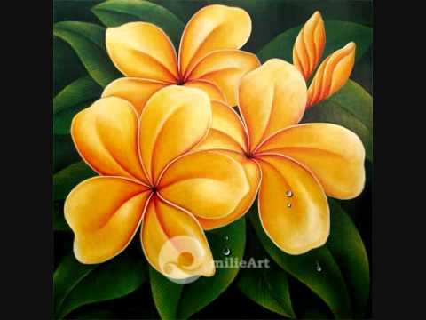 Lukisan Bunga Milieart Youtube
