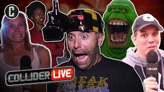 Collider Live Crew Scares Josh at Universal Halloween Horror Nights