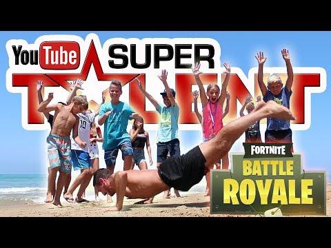 Youtube SUPERTALENT | Fortnite Emotes