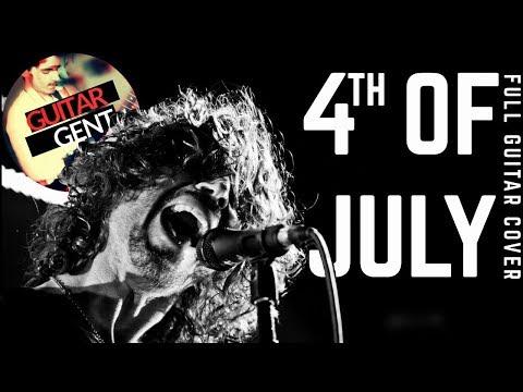 soundgarden - 4th of july   full cover (rhythm + lead guitar)