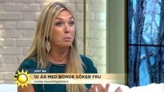 Här brister det för Linda Lindorff - Nyhetsmorgon (TV4)