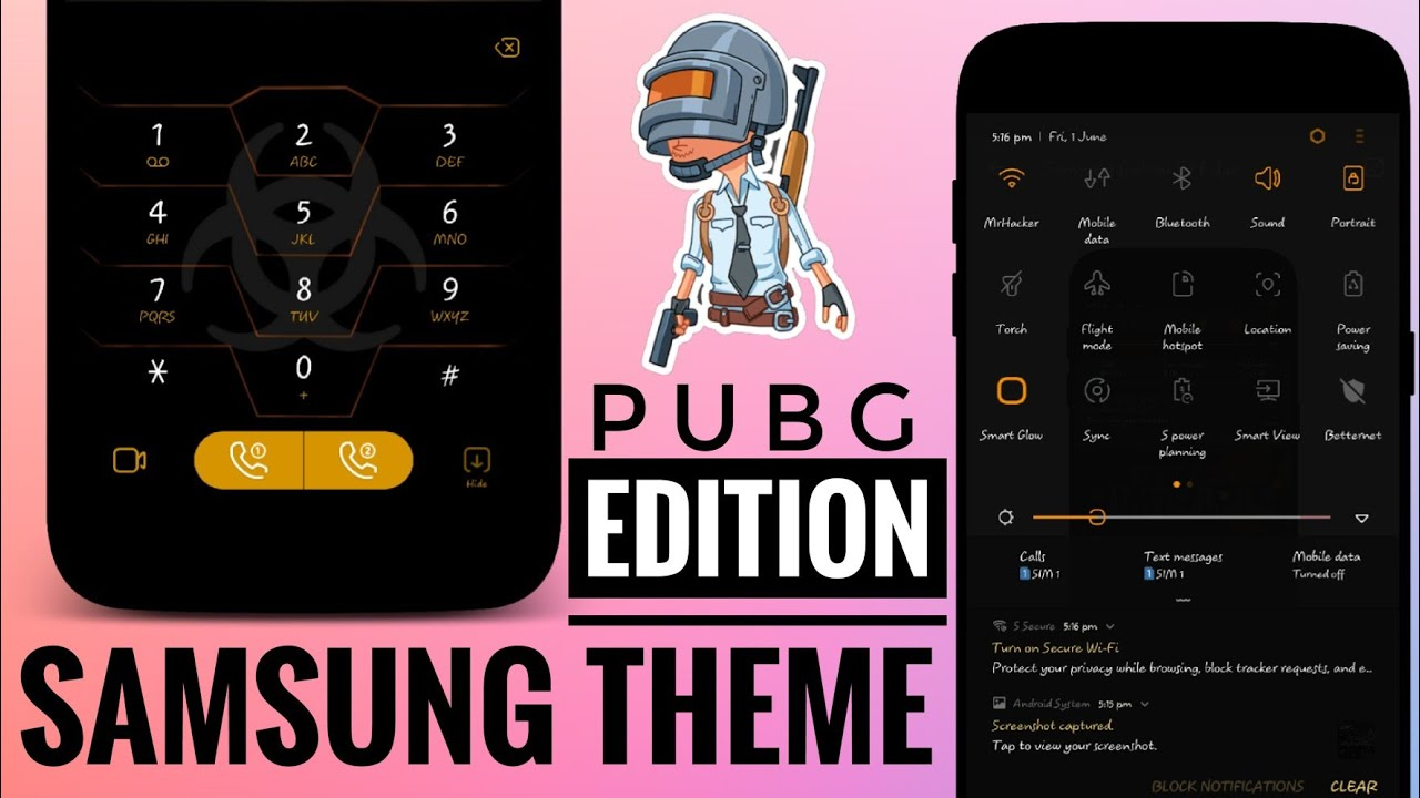 Dark Custom Theme For Samsung Devices | Android Development and Hacking