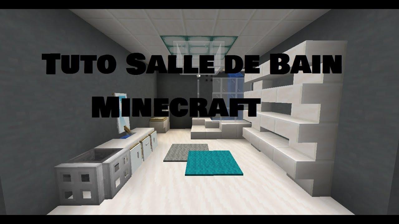 Tuto Salle de bain Minecraft - YouTube