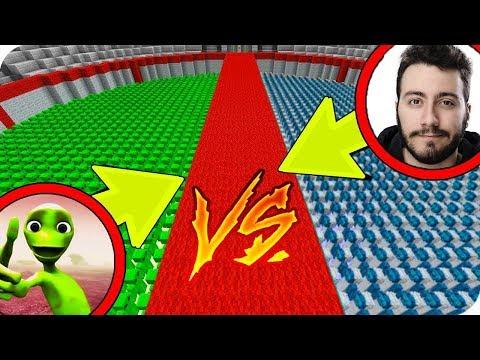 10000 YEŞİL UZAYLI VS 10000 ENES BATUR! 😱 - Minecraft