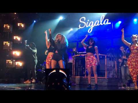 "Imani Williams Ft Sigala Performing  ""Don't Need Your Money"" Live @ Electric Ballroom, Camden"