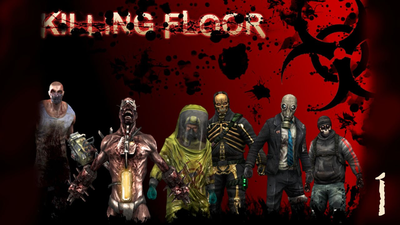 Firing zombies 360 killing floor youtube for Killing floor zombies