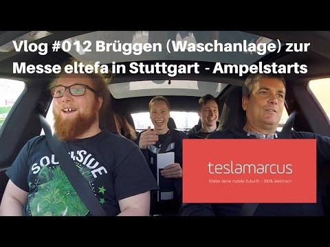 """Vlog#012 Brüggen (Waschanlage) zur Messe """"eltefa"""" in Stuttgart mal 200 km/h - Beschleunigungsfahrten"""