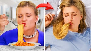 Когда ты на диете / Вкусная еда против полезной