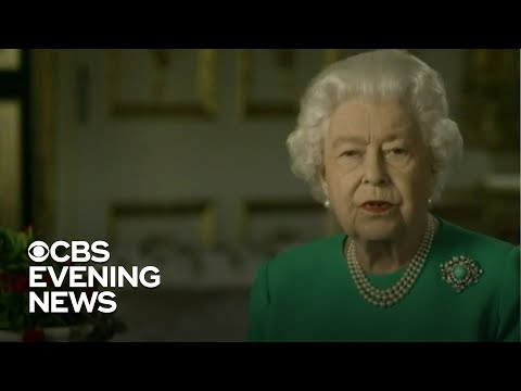 Queen Elizabeth gives rare public address about coronavirus