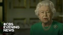 Queen Elizabeth gives rare public address about coronavirus