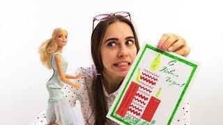 Открытка своими руками! Игры Барби для девочек