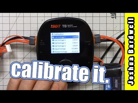 Calibrate ISDT Battery Charger Voltage | HOW TO