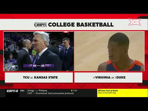TCU vs Kansas State Men's Basketball Highlights