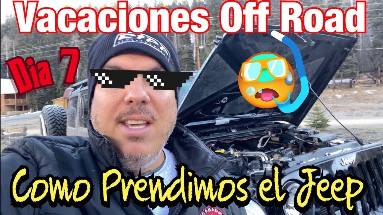 Vacaciones Off Road en New Mexico Dia 6 Buenas y malas noticias by Waldys Off Road