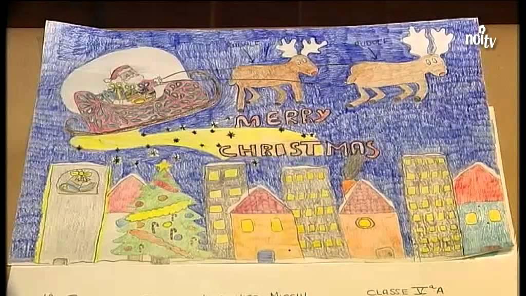 Disegni Di Natale Particolari.Castelnuovo Disegni Di Natale Per Ricordare Francesco