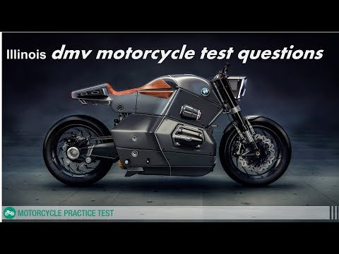 Illinois dmv motorcycle test questions