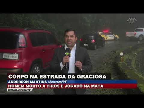 Homem morto a tiros é encontrado em estrada do Paraná