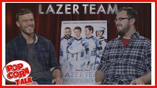 lazer team s alan ritchson rtx 2015   popcorn talk interviews
