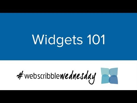 #WebScribbleWednesday - How to Use Widgets to Promote your Job Board