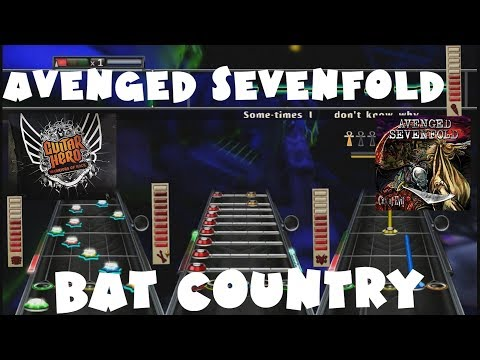 Avenged Sevenfold - Bat Country - Guitar Hero Warriors of Rock Expert + Full Band
