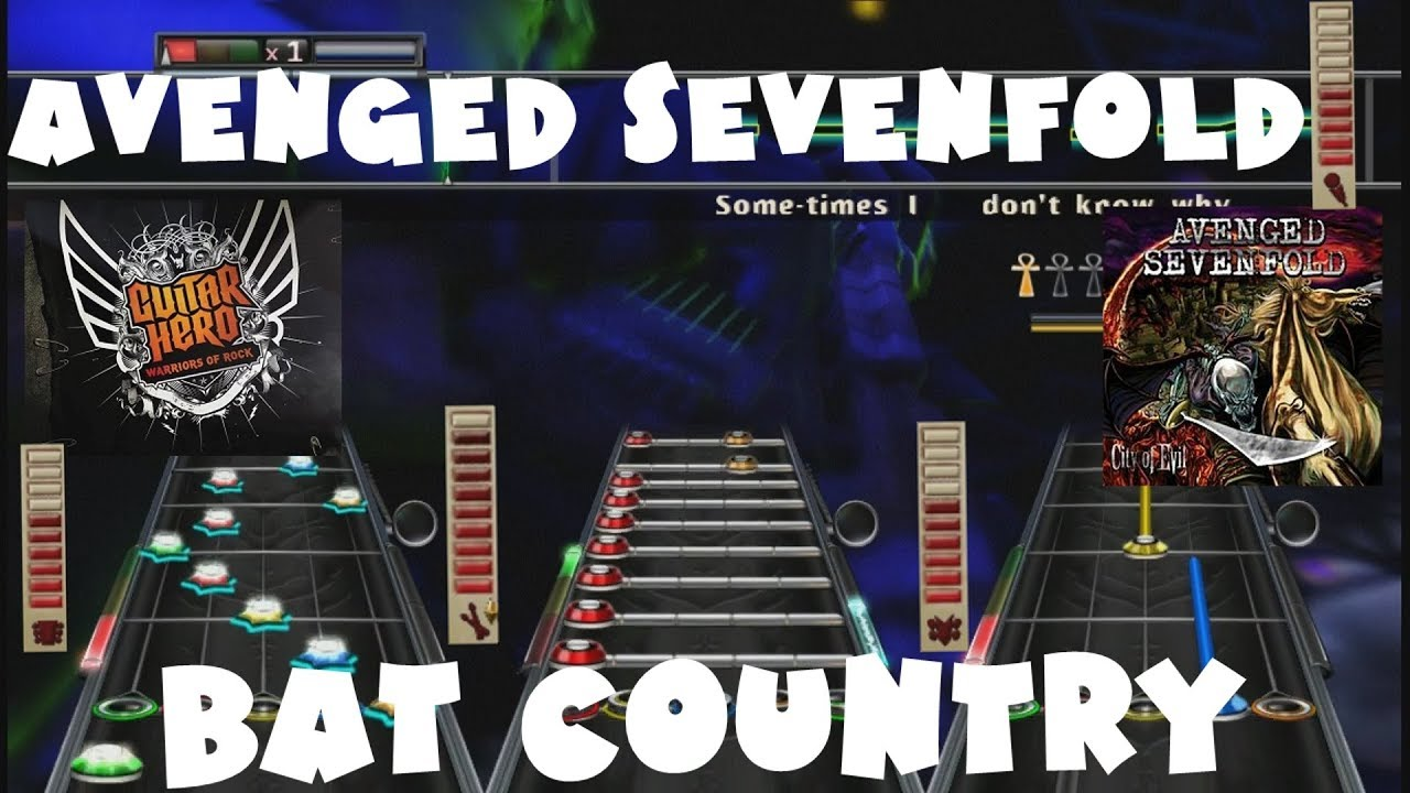 avenged sevenfold bat country guitar hero warriors of rock expert full band youtube. Black Bedroom Furniture Sets. Home Design Ideas