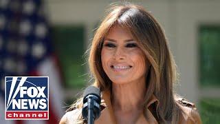 Melania Trump hosts a 'Be Best' interagency meeting