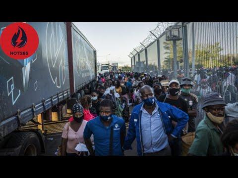Top 5 Scenes From Beitbridge Border During Zimbabwe Lockdown