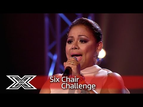 Ivy Grace Paredes performed Whitney Houston's I Have Nothing - The X Factor UK 2016