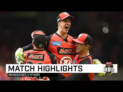 Stars collapse as Renegades snatch title | KFC BBL|08 Final