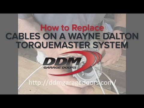 how-to-replace-cables-on-a-wayne-dalton-torquemaster-system