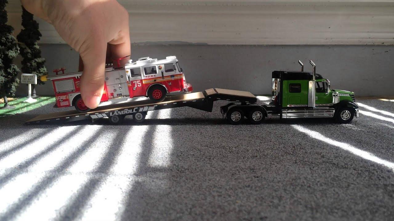 1 64 scale trucks and trailers - Diecast Trucks 1 64 Custom Landoll Trailer Review