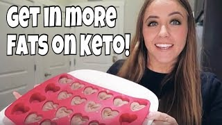 How to Get in More Fat on a Keto Diet! | 2 Simple Ways to Reach Your Fats!