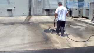 "48"" wide surface cleaner pressure cleaning massive area in minutes. 800-666-1992 sales@hcsclean.com"