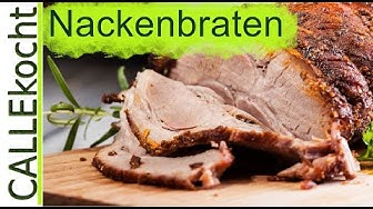 Schweinebraten im Backofen zubereiten - Omas Rezept
