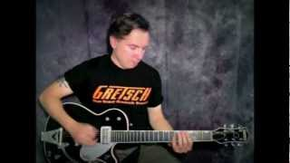 Charlie Christian -Seven Comes Eleven cover (Guitar/Clarinet solo), Gretsch Duo Jet